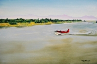 Fraser River Take-off, Vancouver Airport, Vancouver, British Columbia