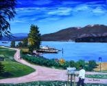 Painting An English Bay Scene, Vancouver, BC