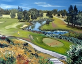 Back Tees View, 13th Hole, McCleery GC, Vancouver, BC
